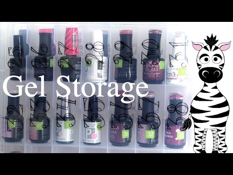 Polish Storage & Baby Proofing Ideas | HumanFriendly Portable Nail Polish Organizer