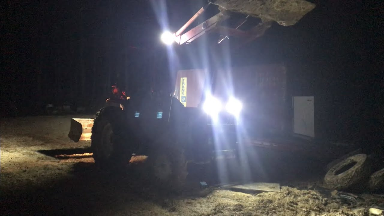 Adding Lights to the Tractor on