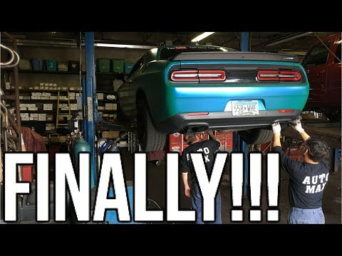 Hellcat Muffler Delete I Got Pulled Over By The Cops Right After