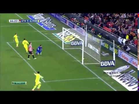 Барселона атлетик бильбао 5 1 обзор матча