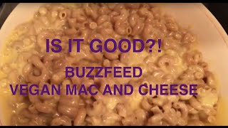 Is It Good Tho? Buzzfeed Vegan Mac And Cheese-taste Test!!