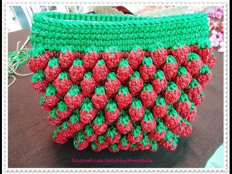 Crochet Stitches Free Crochet Patterns For Bags 357 Youtube