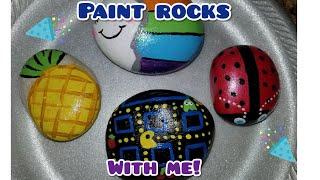 DIY Painted Rocks / Hidden Rock Game