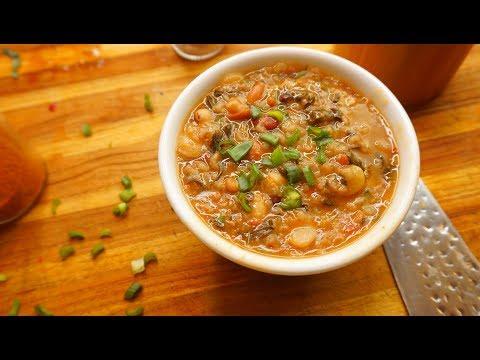 16 Bean Soup - Vegan Plant Based Beans - Instant Pot - Instapot Recipe