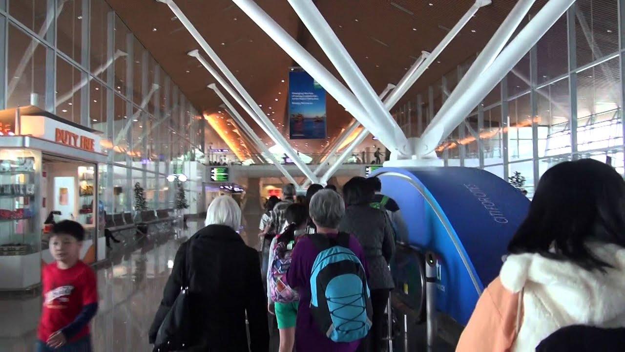 20151219來到吉隆坡機場 - YouTube