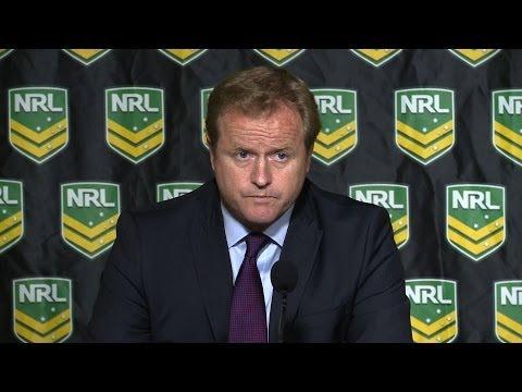 NRL suspends Shane Flanagan