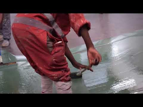 Fossilcote Epoxy Flooring in Uganda( Floor installation Process)