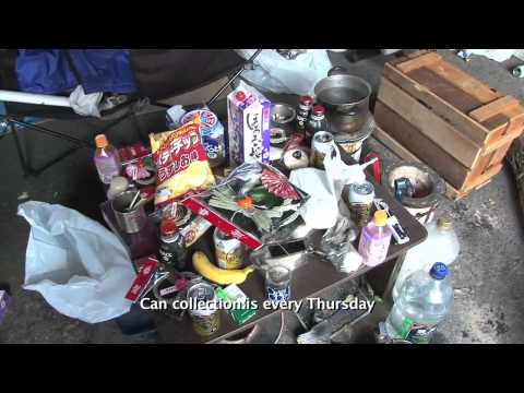 TOKYO CITY SERIES: HOMELESS IN TOKYO