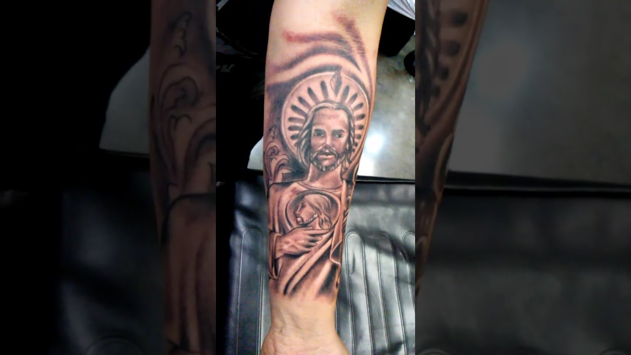 San Judas Tattoo: San Judas Tadeo