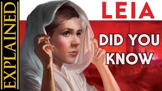 Did You Know: Leia: Princess of Alderaan - Star Wars Facts, Easter Eggs, Trivia, References, & More!