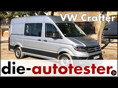 VW Crafter Modellpalette - VW Crafter Varianten im Überblick | Test & Fahrbericht | Review | Deutsch