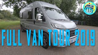 Fiat Ducato Custom Campervan - Full Van Tour
