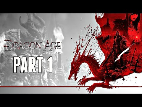 Dragon Age Origins Walkthrough Part 1 - INTRO & GREY WARDENS (Xbox One Gameplay HD)