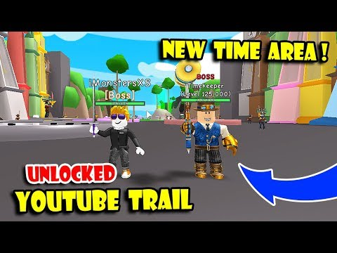 *NEW* TIME AREA UPDATE   UNLOCKED ALL NEW BEST TRAILS  & TRADE BACK In RPG WORLD SIMULATOR! [Roblox]