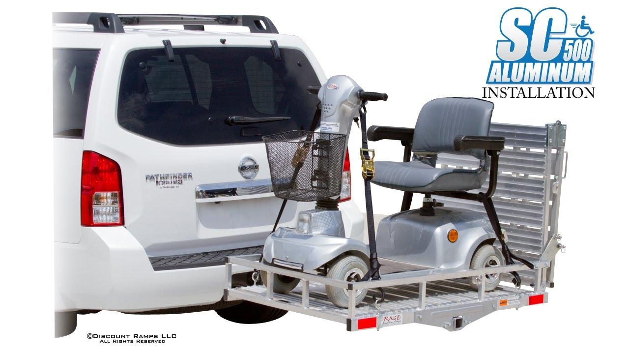 Sc500 Af Aluminum Folding Mobility Carrier Installation