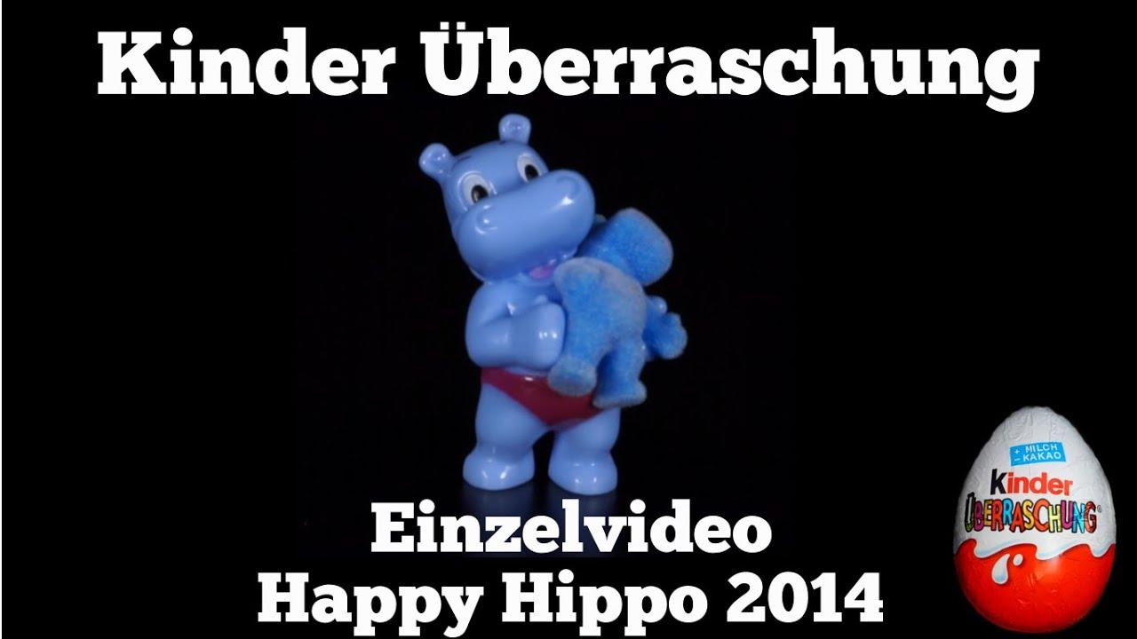 Happy Hippo - Die Überraschungsparty - 40 Jahre Ü-Ei 2014 / Kinder ...