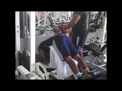 Yohan Blake Weight Lifting Clips