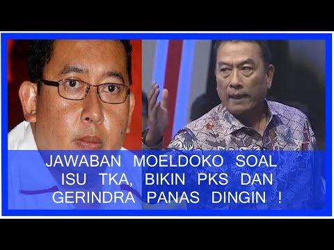 Jawaban Moeldoko Terhadap Isu Tenaga Kerja Asing, Bikin PKS dan Gerindra Panas Dingin!