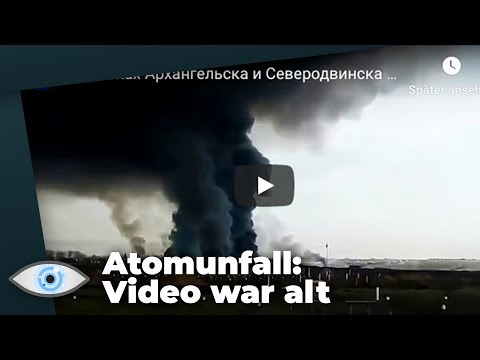 Atomunfall in Russland: