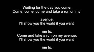 Avenue Lomaticc Karaoke with Lyrics