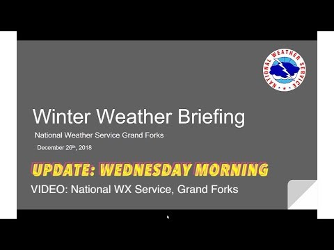 STORM UPDATE: National Weather Service, Grand Forks