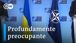 OTAN teme el despliegue militar ruso frente a Ucrania