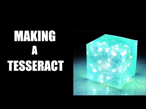 Easy DIY Avengers Tesseract Resin lamp