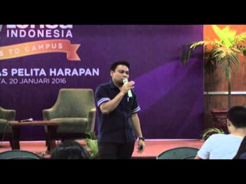 sesi 3 - LENSA INDONESIA goes to UPH campus.