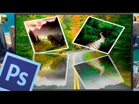 Ps crear un album o collage con photoshop youtube - Como hacer un album de fotos ...