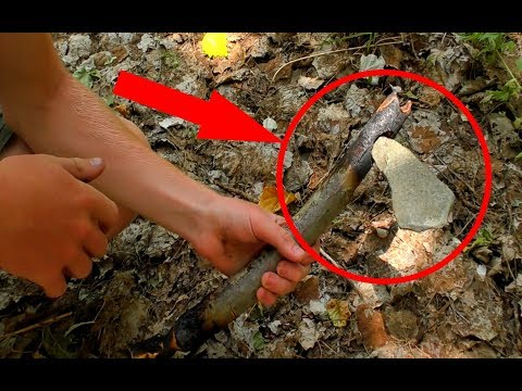 How to make a Stone Axe Part 2 || Primitive Technology Rj