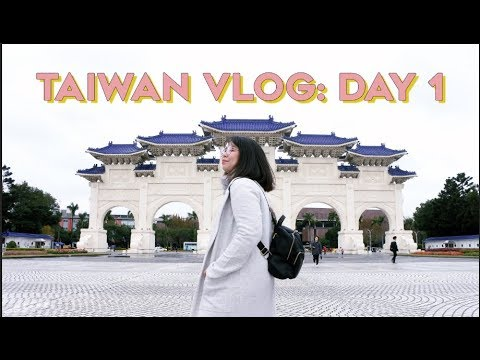 TAIWAN VLOG | (VISA-FREE) Day 1: CKS Hall, Huashan Creative Park, Digital Plaza