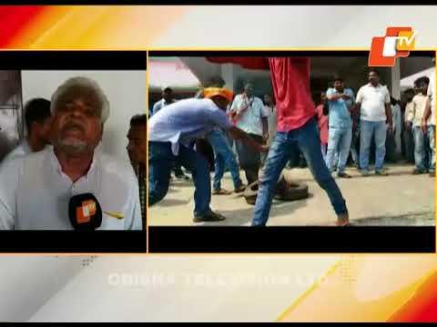 BJP activists ransack Parjang block office