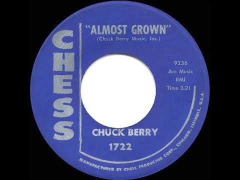 1959 HITS ARCHIVE: Almost Grown - Chuck Berry