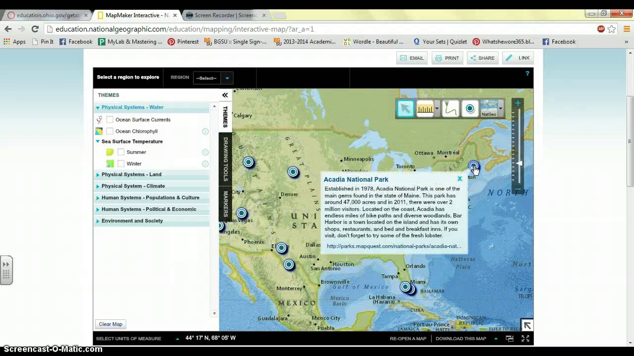 National Geographic Map Maker Interactive - YouTube
