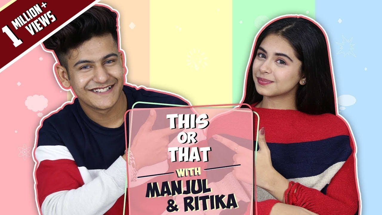 This Or That With Manjul Khattar & Ritika Badiani | Secret Project REVEALED | Exclusive.
