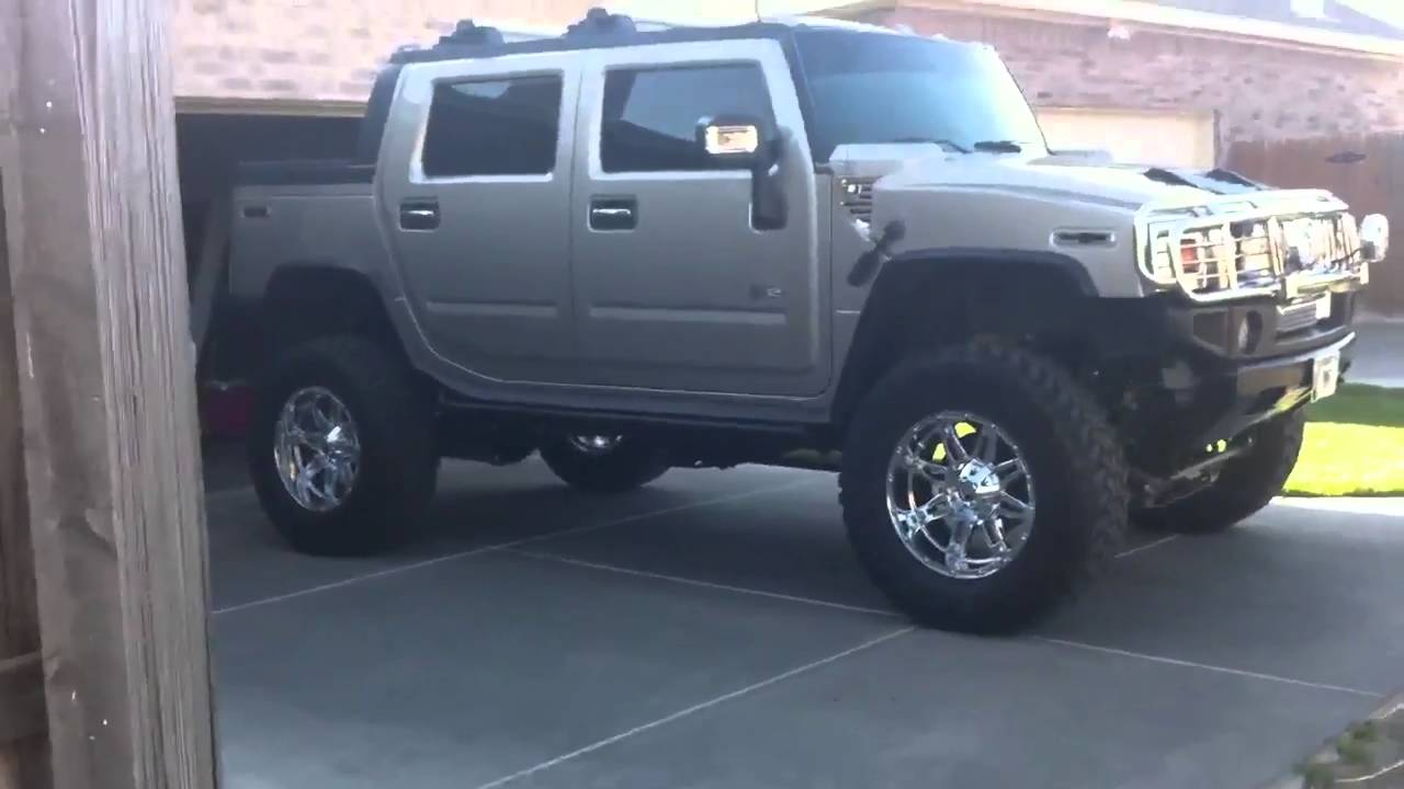 Hummer H2 Sut For Sale >> Lifted Hummer Sut - YouTube
