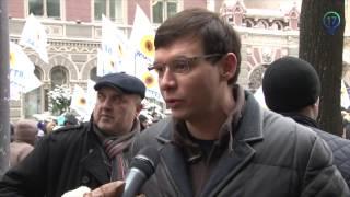 Депутат Евгений Мураев о  бомж провокациях  на митингах под НБУ