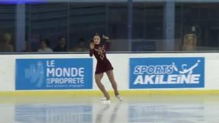 2016  ISU Junior Grand Prix - St. Gervais - Ladies Free Skate Aiza MAMBEKOVA