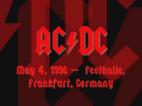 AC/DC - Back In Black - Live [Frankfurt 1996]