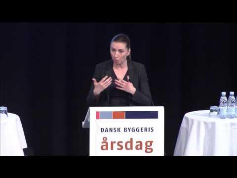 Dansk Byggeri Årsdag 2017 - Mette Frederiksen
