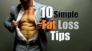 10 Simple Fat Loss Tips | How To Stick To A Diet Thumbnail