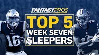 Top 5 Sleepers Starts (Week 7 Fantasy Football)