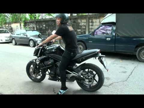 Kawasaki ER-6n TEST RIDE