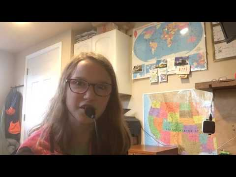 Katie works ARRL Grid Square Chase on New Years Day