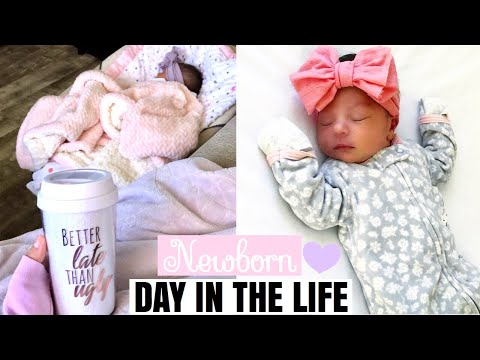 Day In The Life With A Newborn | 5 Days Old♡