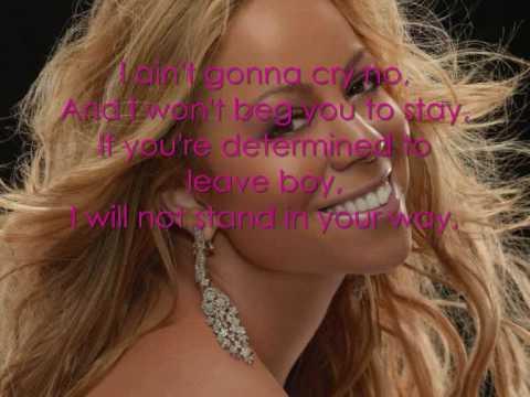 Mariah Carey  Always Be My Ba Lyrics On Screen