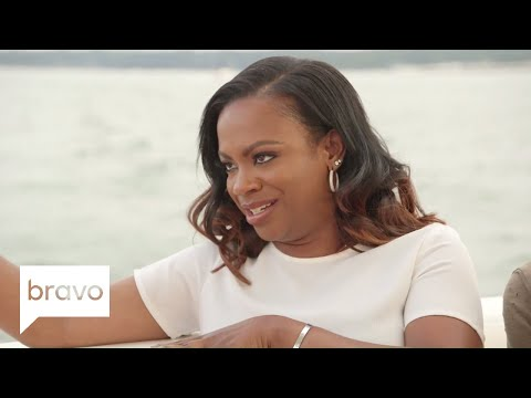 RHOA: Kandi Burruss Grills Cynthia Bailey's New Man (Season 10, Episode 7) | Bravo
