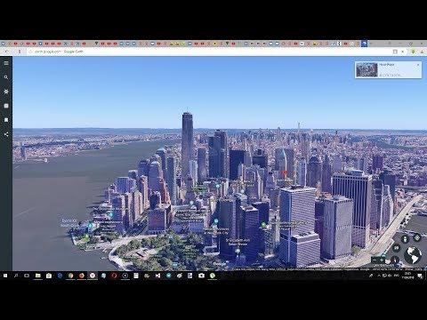 Новая Google Earth. Гугл планета Земля