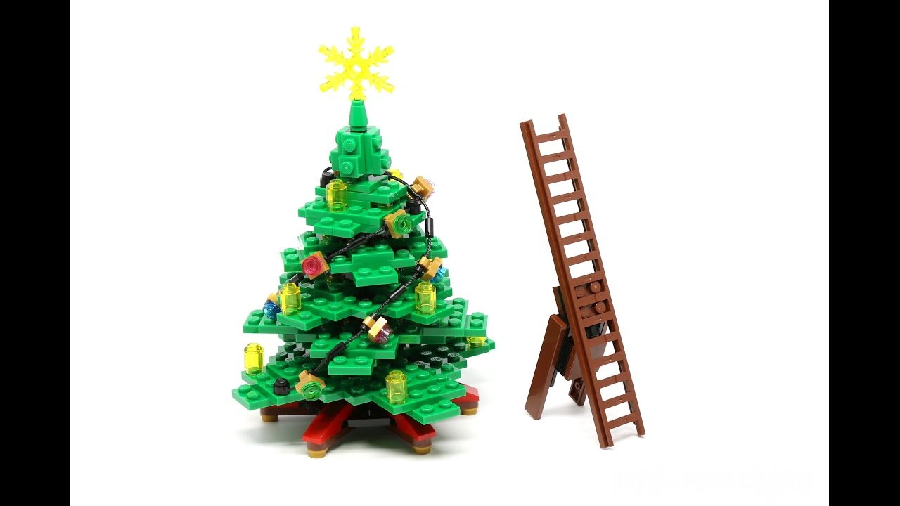 How To Decorate Your Lego Christmas Tree (stop/motion