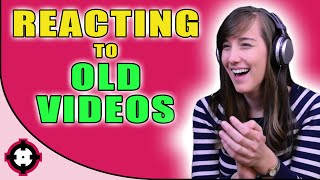 ►Reacting to Old Videos◄ Reacting to My First Video!